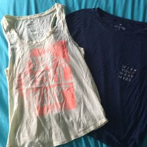 AEO BUNDLE• two shirts